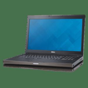 """Dell Precision M6800 i7-4810MQ 16GB 512GB SSD, 17"""", NVIDIA Quadro K4100M, W10 Pro."""