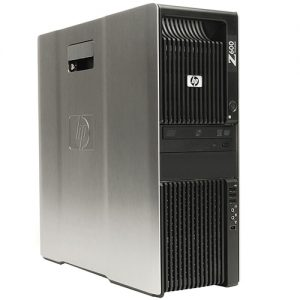 HP Z600 Workstation Tower 2x Intel®QuadCore Xeon®E5504, 12GB DDR3, HDD 500GB. DVD, NVIDIA Q600. W10 Pro.