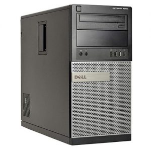 Dell 9020 Tower Intel® Core™ i5-4670T, 8GB DDR3, HDD 500GB, DVD-RW. W10 Home.