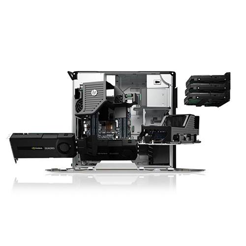 HP Z620 Workstation Tower - 2x OctaCore Intel® Xeon® E5-2680, 32GB DDR3, SSD 480GB, NVIDIA QUADRO K2000, Win10 Pro
